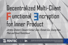 Functional Encryption Blockchain Cybersecuirty H2020