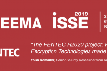 logo ISSE 2019 adapted to FENTEC talk